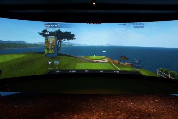 Avalon Indoor Golf Center Screen