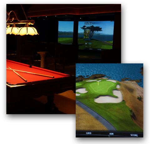 Indoor Golf Center Pictures