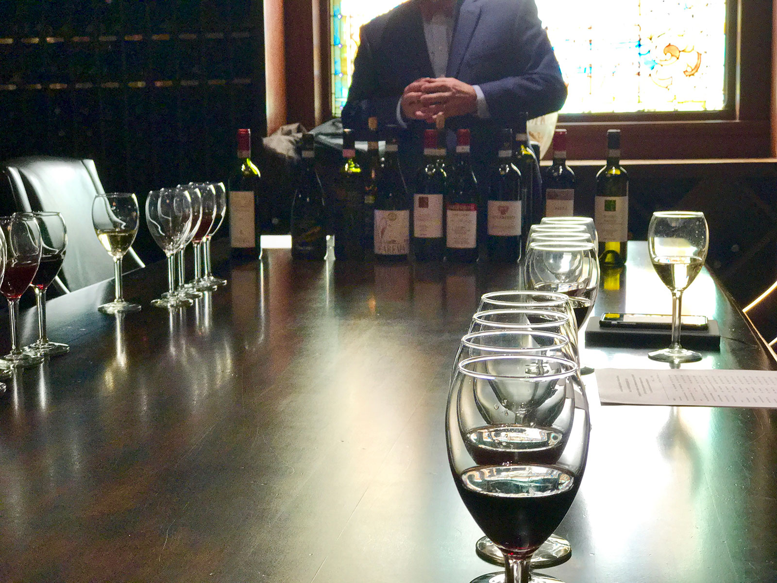 The Wine Room at Avalon at Squaw Creek