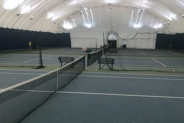 Indoor Tennis at Squaw Creek